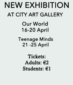Notice of an art exhibition