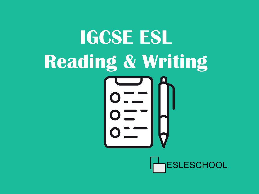 IGCSE ESL Practice | Free exercises to be successful in the new exam