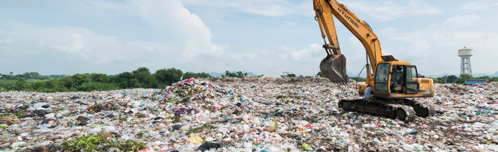 landfill, managing waste